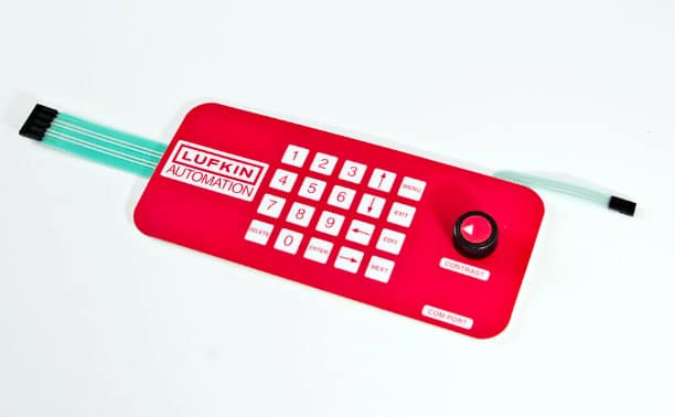 Duraswitch membrane switch with thin coat rotor