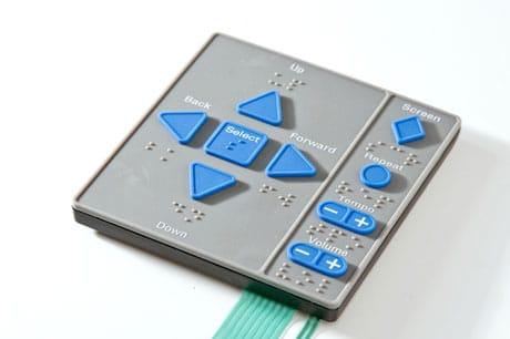 molded plastic rubber keypad