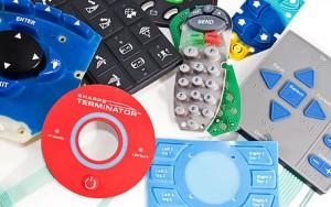 Rubber Keypad Prototype Samples