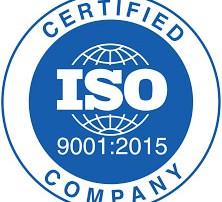 ALMAX EIS ISO 9001-2015 certification