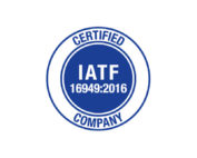 ALMAX IATF Automotive Membrane Switch Logo